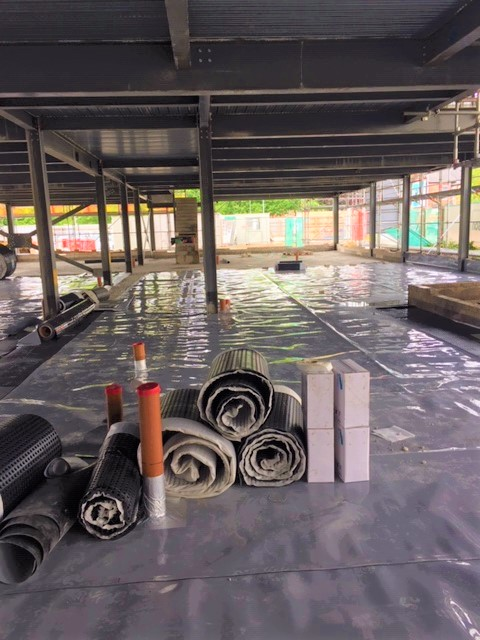 Ground gas protection at in Manchester